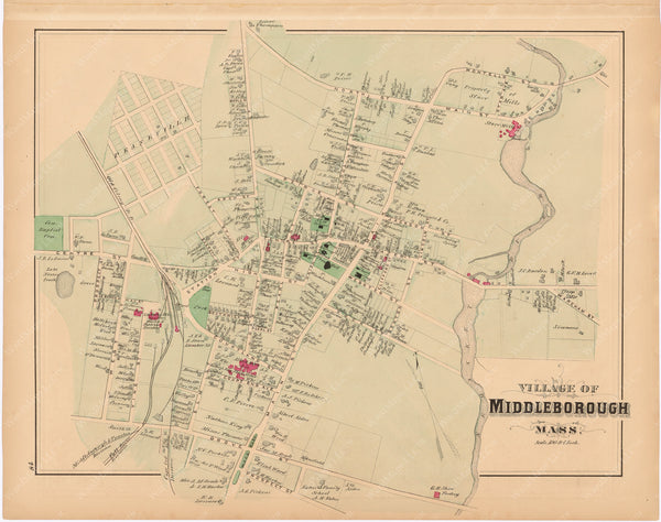 Middleborough, Massachusetts 1879