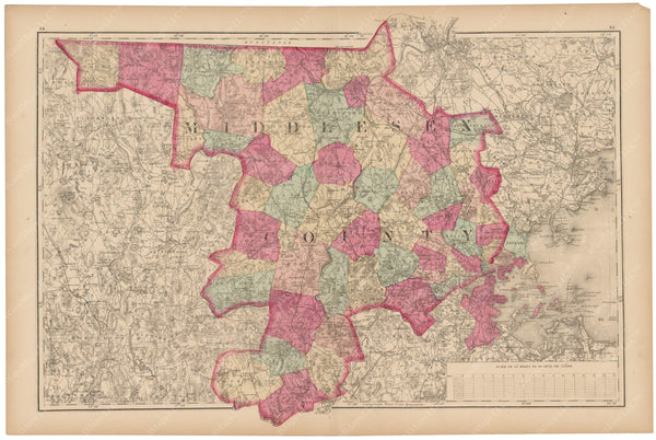 Middlesex County, Massachusetts 1871
