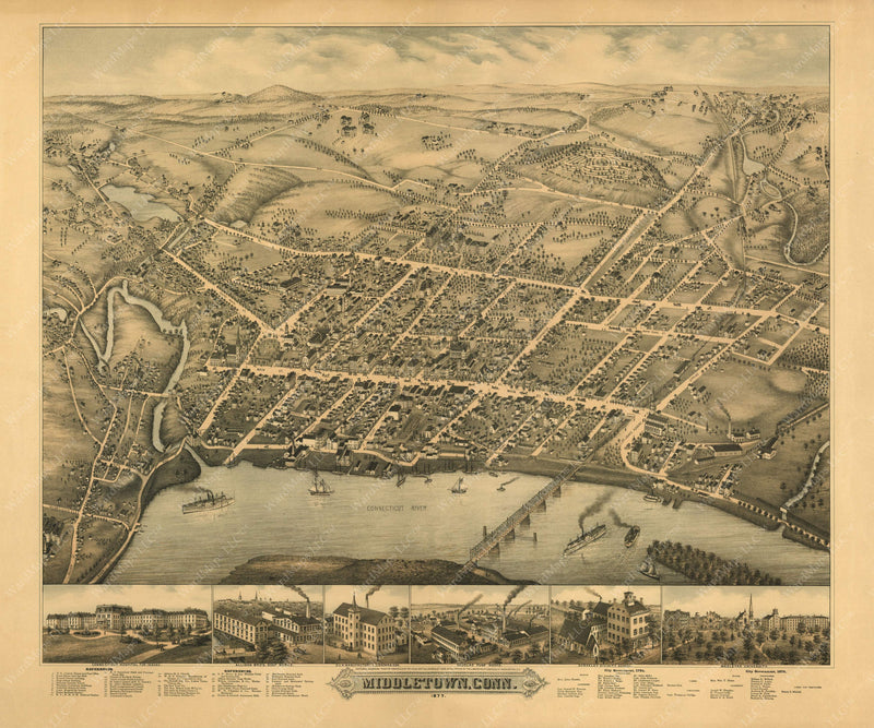 Middletown, Connecticut 1877