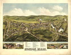 Monson, Massachusetts 1879