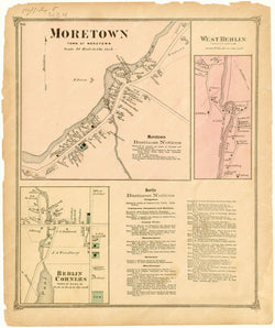 Berlin and Moretown, Vermont 1873