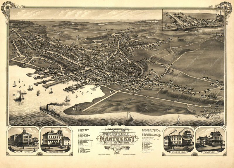 Nantucket, Massachusetts 1879