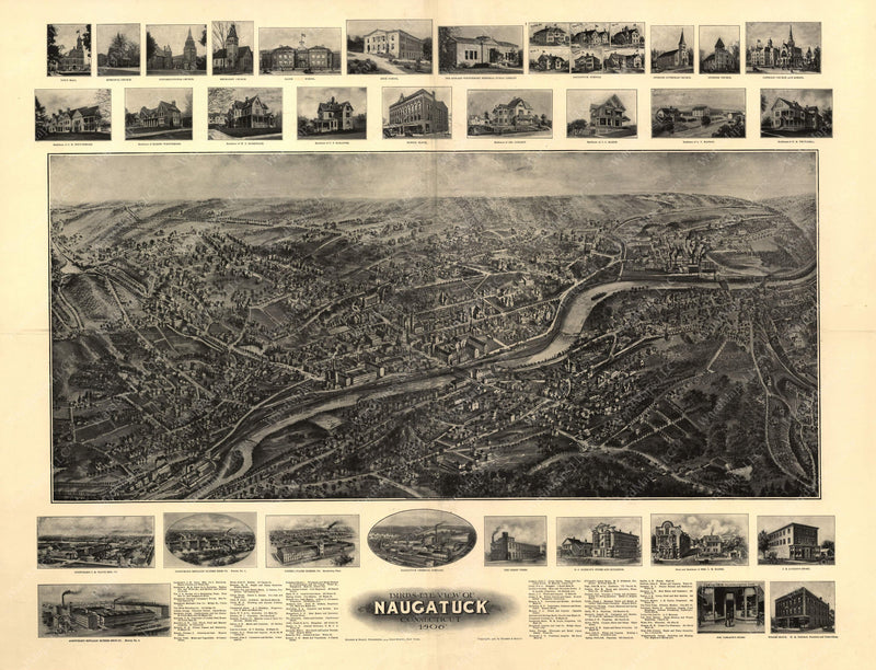 Naugatuck, Connecticut 1906