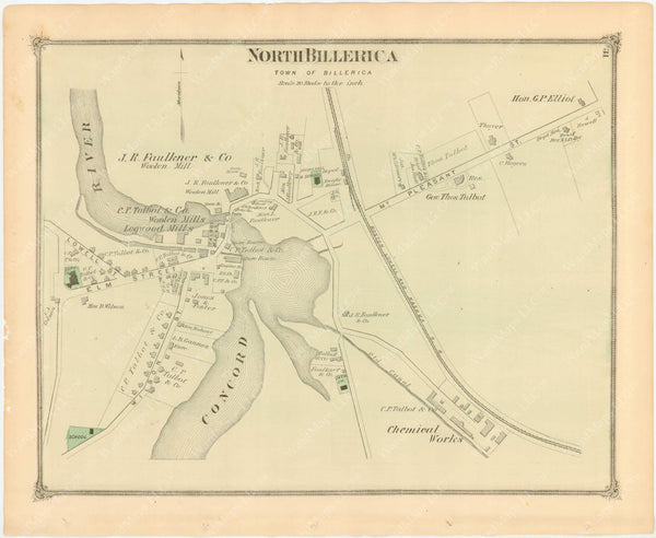 Billerica, Massachusetts: North Billerica 1875