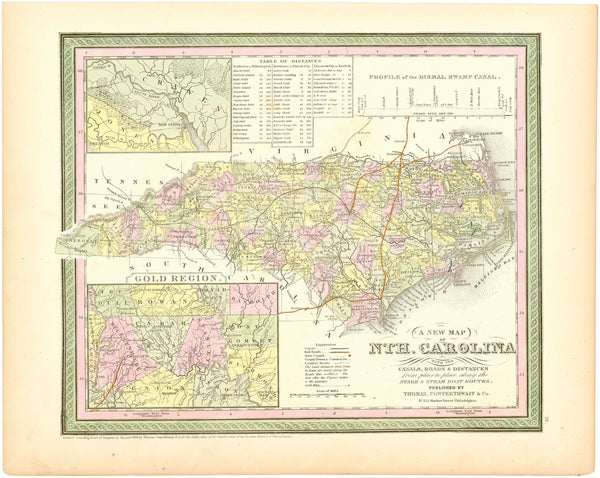 North Carolina 1854
