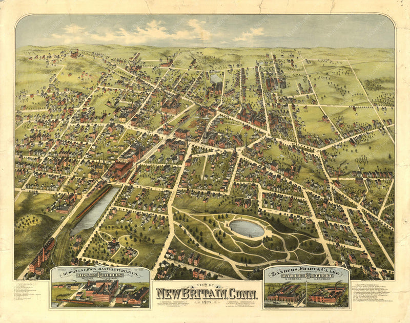 New Britain, Connecticut 1875