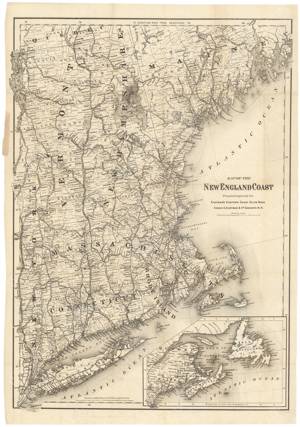 New England Coast 1871
