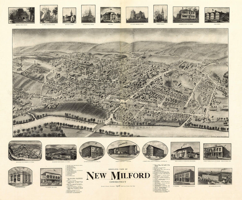 New Milford, Connecticut 1906