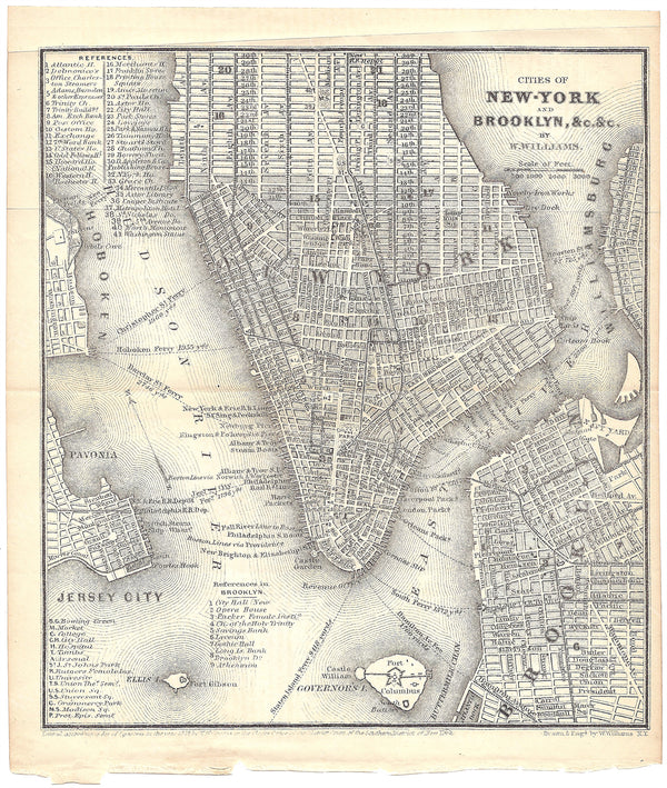 New York and Brooklyn, New York 1848