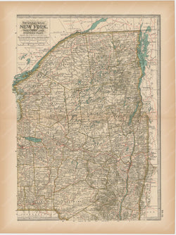 New York: Northeastern Part 1897