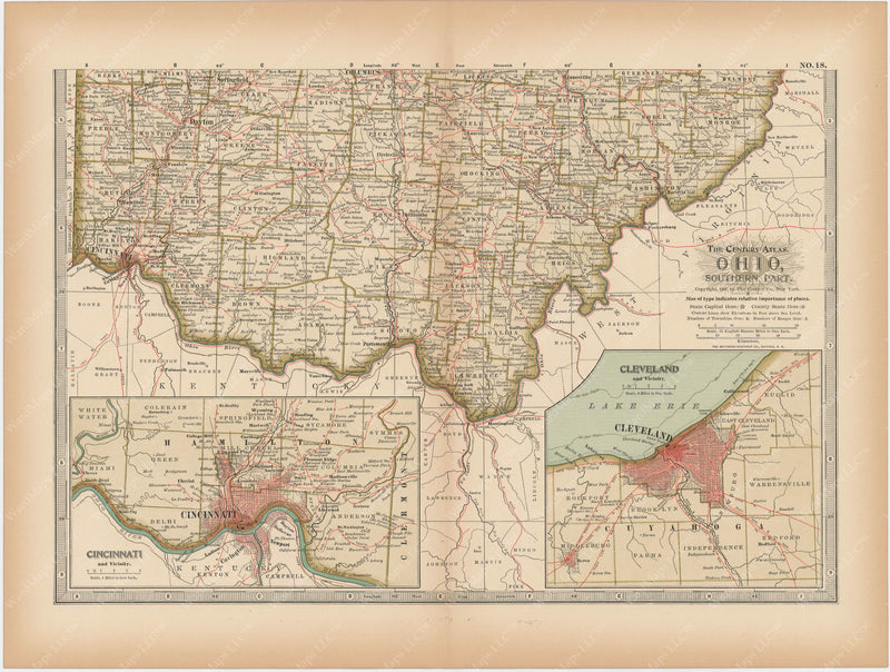 Ohio: Southern Part 1897