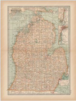Michigan: Southern Part 1897