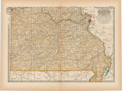 Missouri: Southern Part 1897