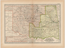 Oklahoma and Indian Territory 1897