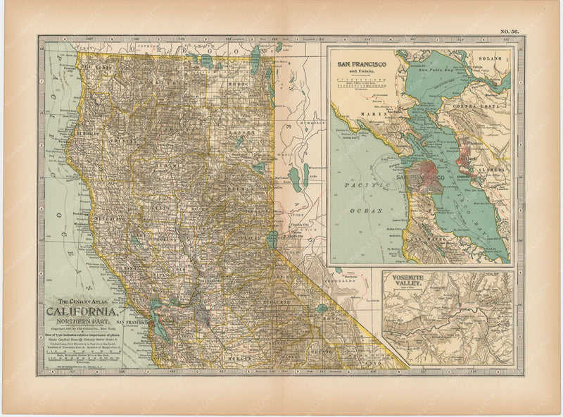 California: Northern Part 1897