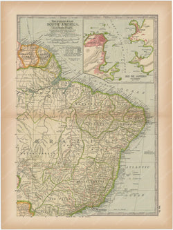 South America: Northeastern Part 1897