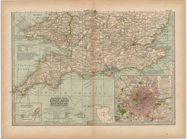 England and Wales: Southern Part 1897