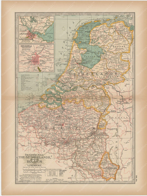 Belgium, Netherlands, and Luxembourg 1897