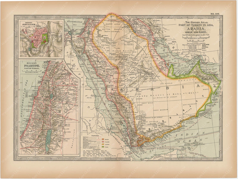 The Middle East 1897