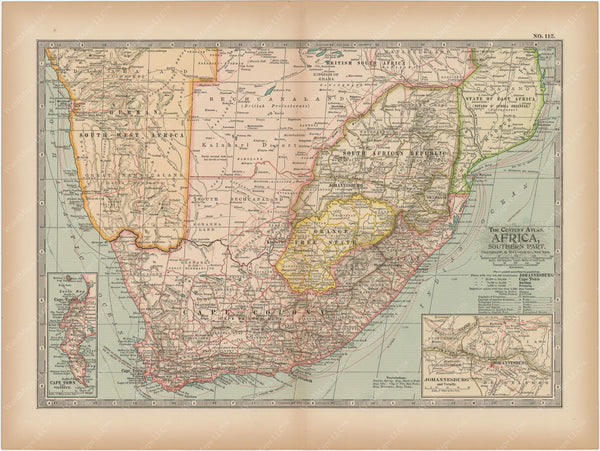Africa: Southern Part 1897