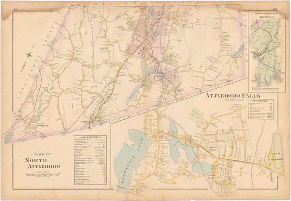 North Attleborough, Massachusetts 1895