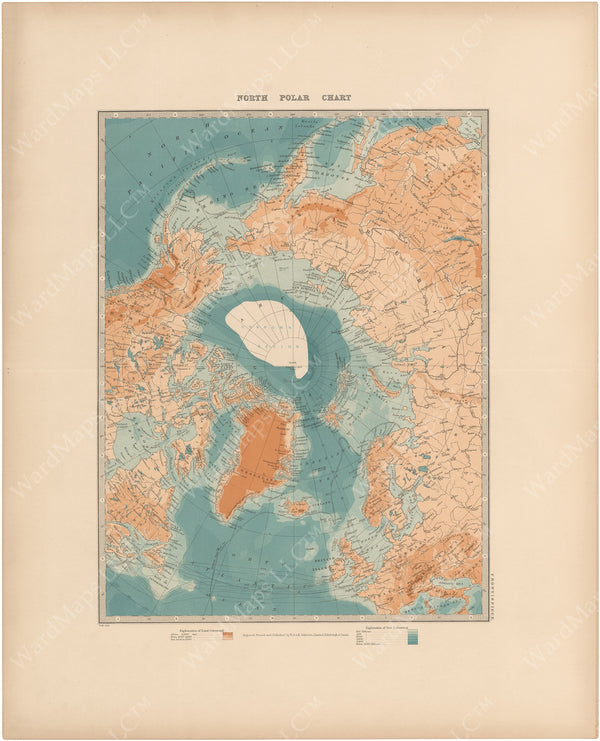 North Polar Region 1913