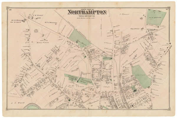 Northampton, Massachusetts 1873