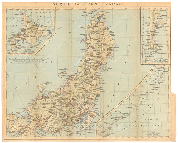 Northeastern Japan 1914