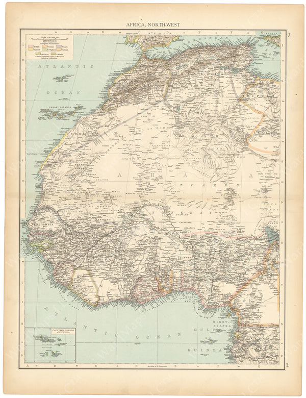 Africa 1895: Northwestern Part