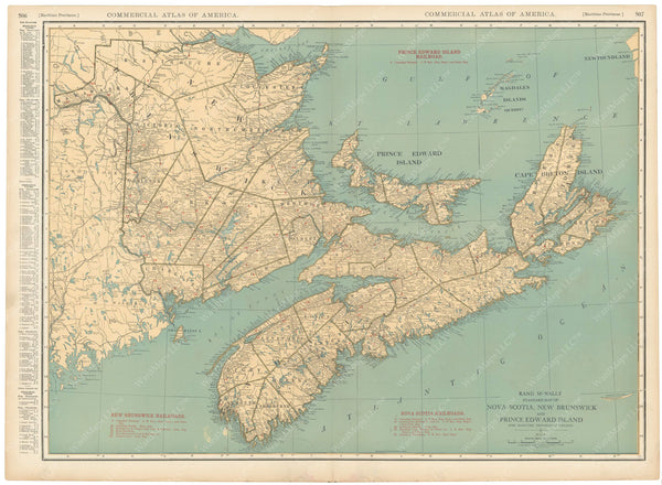 New Brunswick, Nova Scotia, and Prince Edward Island 1925