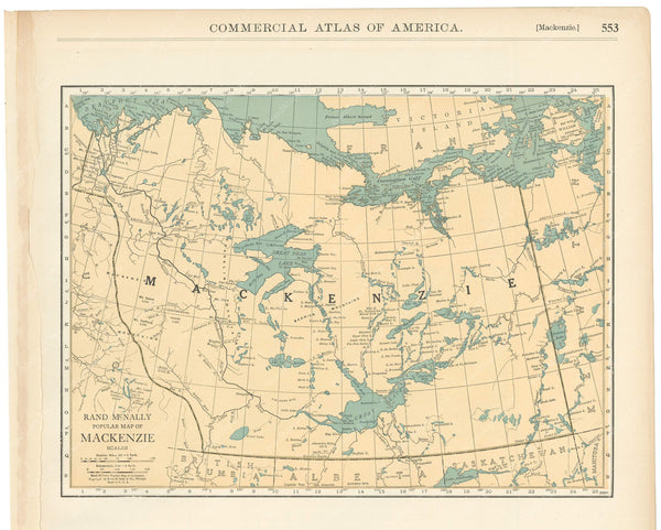 Canada 1925: Northwest Territories