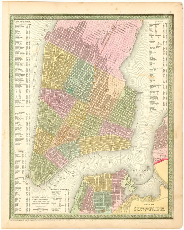 New York City, New York 1854