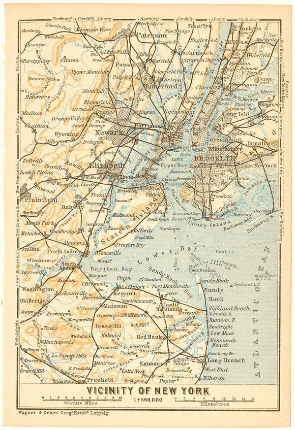 Greater New York City 1904