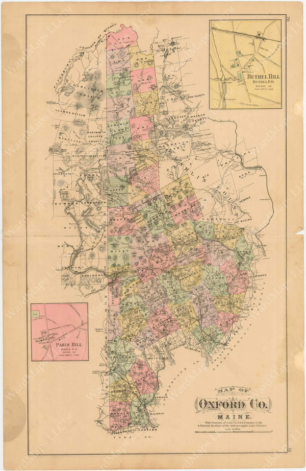 Oxford County, Maine 1894-95