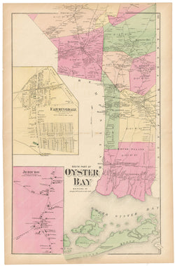 Oyster Bay South, New York 1873