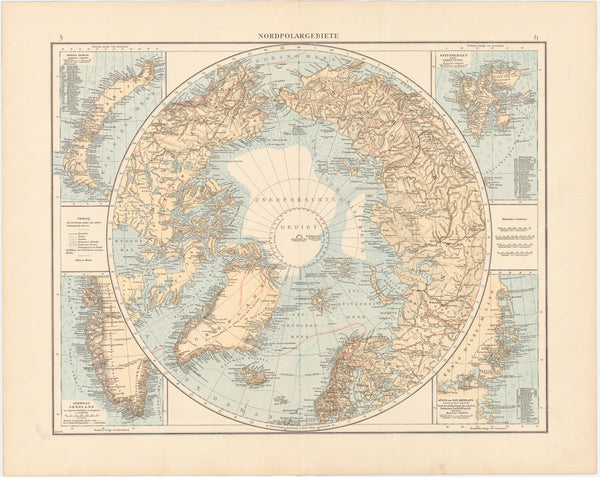 Northern Polar Region 1899