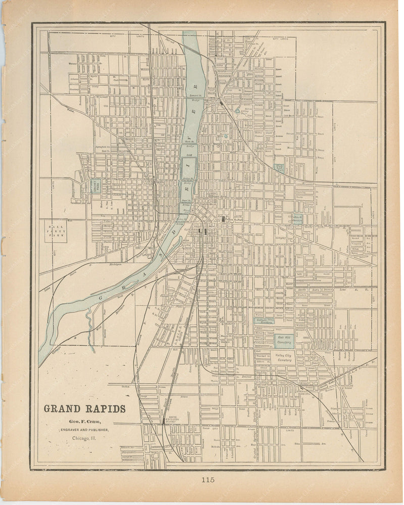 Grand Rapids, Michigan 1894