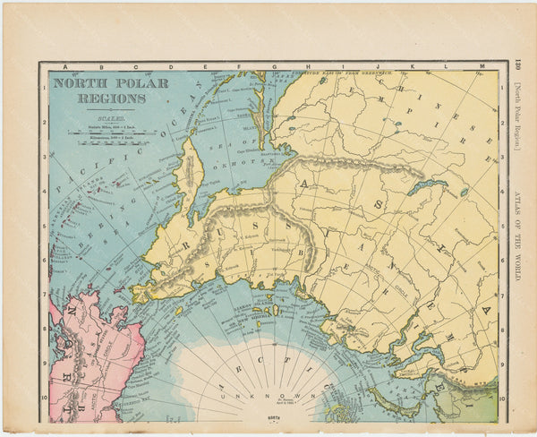 North Polar Region 1900