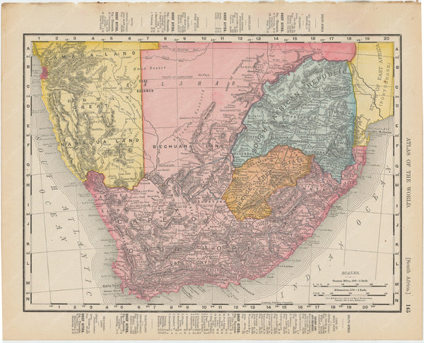 Africa (Southern Part) 1900
