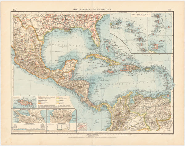 Central America and West Indies 1899