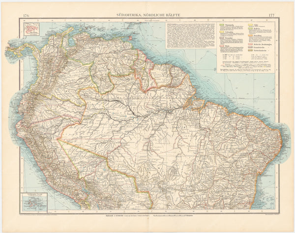 South America 1899 (Northern Part)