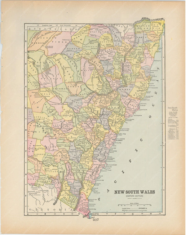 New South Wales: Eastern Section 1894