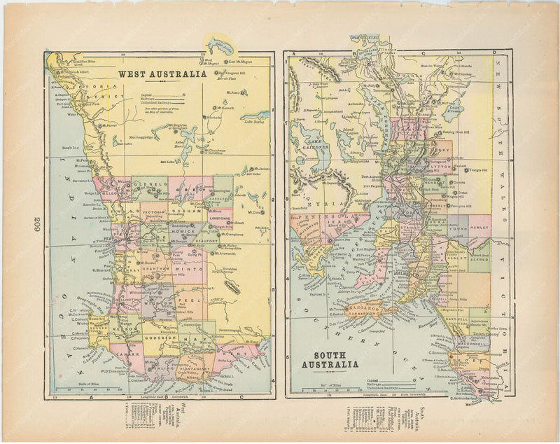 West Australia and South Australia 1894