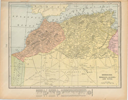 Morocco, Algeria, and Tunisia 1894