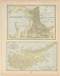 Alexandria, Egpyt and Cyprus 1894