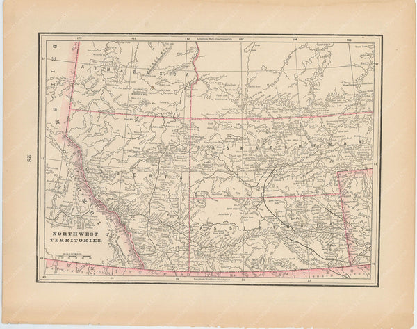 Alberta, Saskatchewan, and Assiniboia 1894