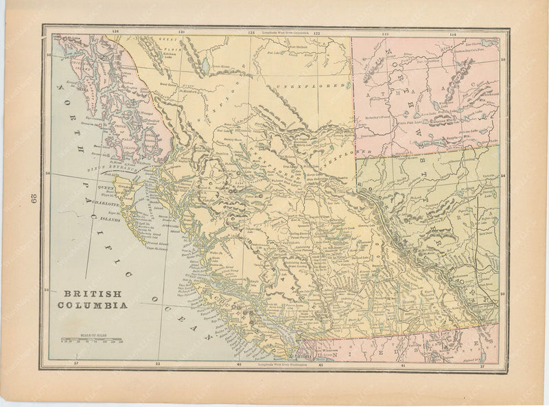 British Columbia and Northwest Territories (Alberta) 1894