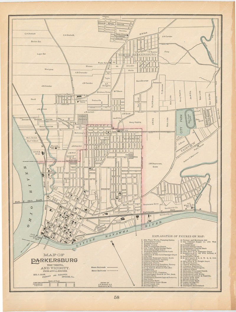 Parkersburg, West Virginia 1894