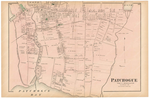 Brookhaven: Patchogue, New York 1873