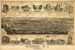 Paterson, New Jersey 1880